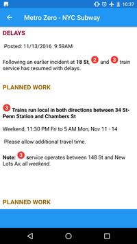 MTA Zero NYC Subway screenshot 2