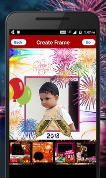 New Year Photo Frames 2018 screenshot 3