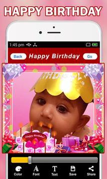 Birthday Photo Frames screenshot 4