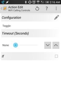 WiFi Calling Controls (Tasker) apk screenshot
