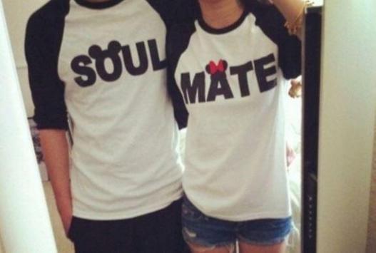 Couple T-shirts Idea poster