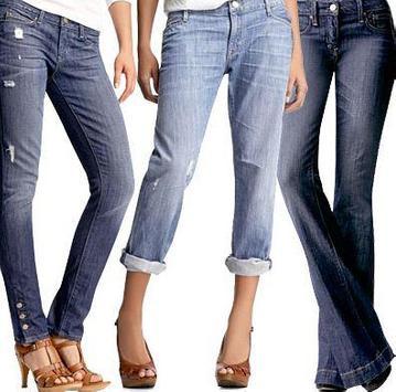 Women Long Jeans poster