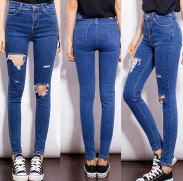 Women Long Jeans screenshot 2