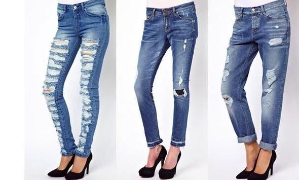 Women Long Jeans screenshot 4