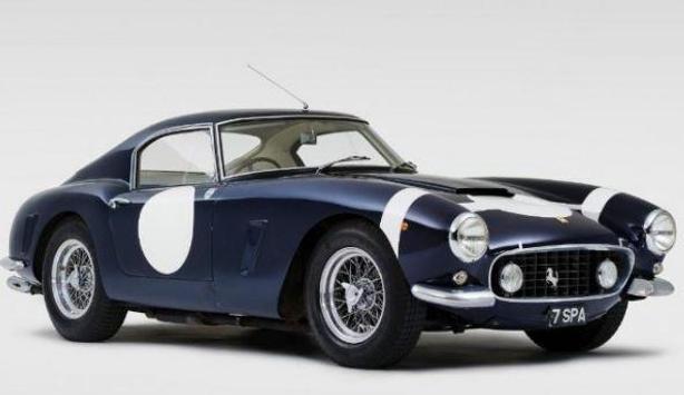 Classic Racing Car poster