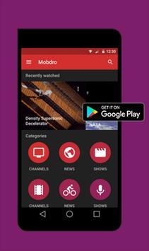 Mobdro APK apk screenshot