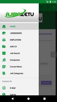 Ajirazetu Portal apk screenshot