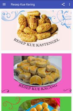 Aneka Resep Kue Kering Populer poster