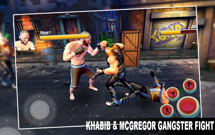 Khabib  McGregor Gangster Fight 1