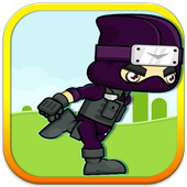 Ninja run icon
