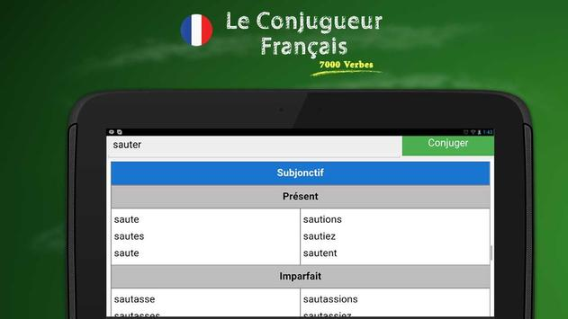 French Conjugation screenshot 3