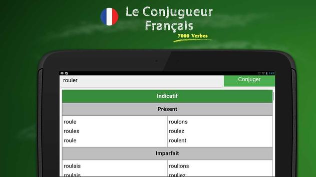 French Conjugation screenshot 4