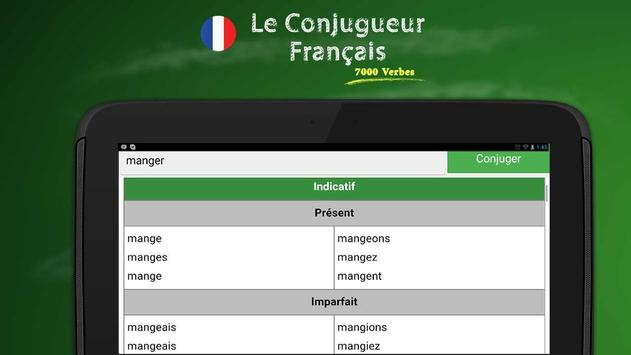 French Conjugation screenshot 5