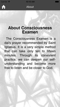 Consciousness Examen apk screenshot