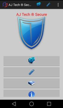 AJ Technologies Secure Beta poster
