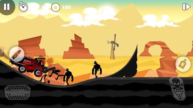 Zombie Race - Undead Smasher скриншот приложения