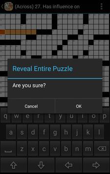 Crossword puzzles apk screenshot