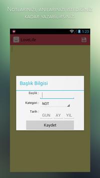 LoveLife - Love days counter apk screenshot