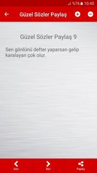Güzel Sözler Paylaş screenshot 4
