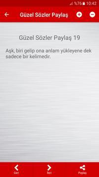 Güzel Sözler Paylaş screenshot 5