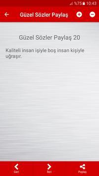 Güzel Sözler Paylaş screenshot 6