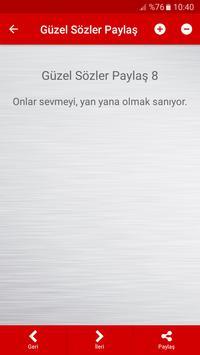 Güzel Sözler Paylaş screenshot 3