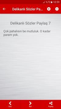 Delikanlı Sözler Paylaş apk screenshot