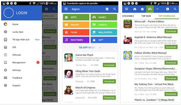 Appvn Market apk screenshot