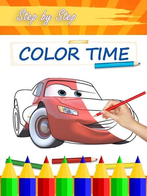 Coloriage Flash Mcqueen Et Doc Hudson.Mcqueen Coloring Pages For Cars 3 For Android Apk Download