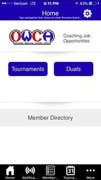 OWCA app apk screenshot