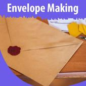 Envelope Making icon