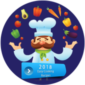 Quick and Easy Cooking Recipes App for Beginners icon