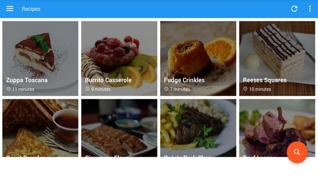Quick and Easy Cooking Recipes App for Beginners poster