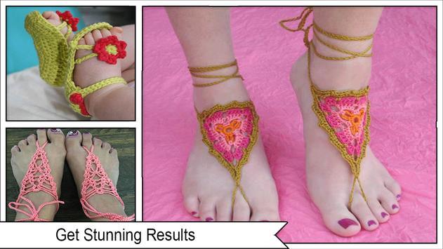 Adorables patrones de sandalias descalzas de gan Descarga APK ...