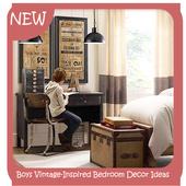 Boys VintageInspired Bedroom Decor Ideas icon