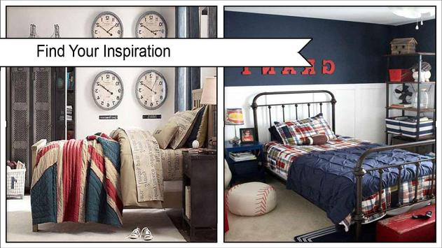 Boys VintageInspired Bedroom Decor Ideas poster