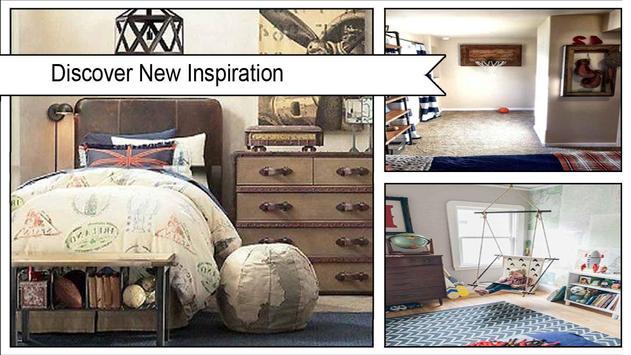 Boys VintageInspired Bedroom Decor Ideas screenshot 1