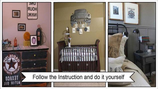 Boys VintageInspired Bedroom Decor Ideas screenshot 2