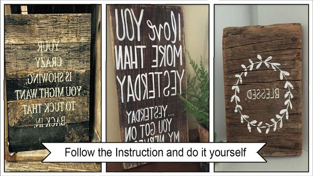 1000+ Pallet Sign Ideas poster