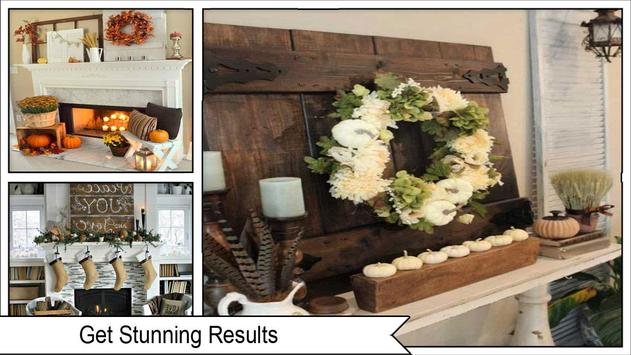 Stunning Fall Mantel Decorating Ideas screenshot 3
