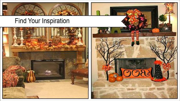 Stunning Fall Mantel Decorating Ideas poster