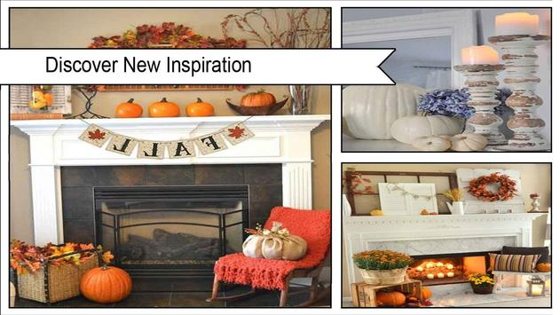 Stunning Fall Mantel Decorating Ideas screenshot 1