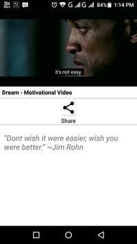 Motivational Videos screenshot 2