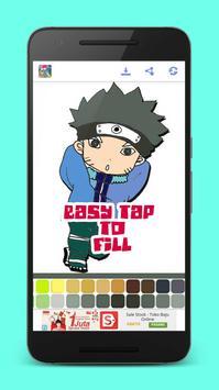 Manga Anime Coloring Books screenshot 1