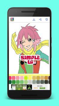 Manga Anime Coloring Books screenshot 2
