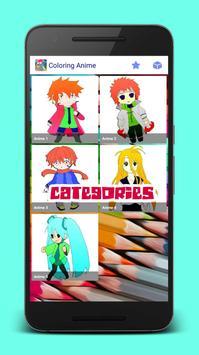 Manga Anime Coloring Books screenshot 4
