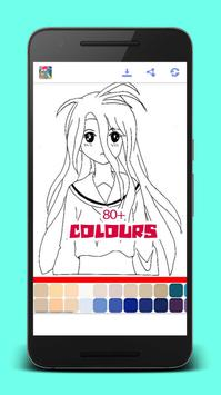 Manga Anime Coloring Books screenshot 5