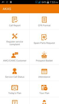 AKAS  Field Support apk screenshot
