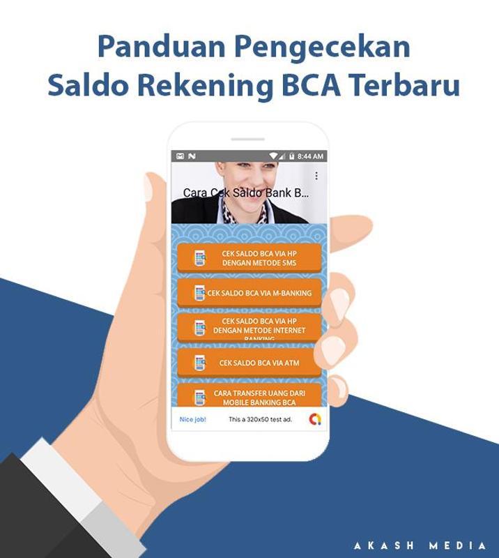 Cek Saldo Bca Terbaru For Android Apk Download