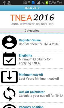 TNEA 2016 apk screenshot